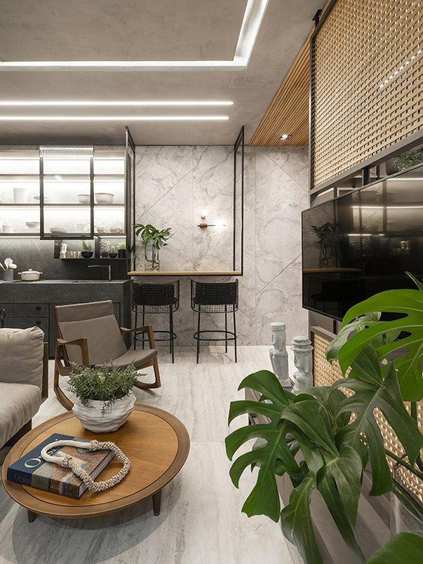 Ambiente Hub Smart home, por Daniela Viana e Lilian Maravai