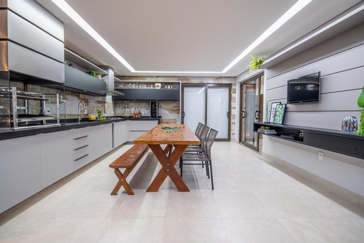 Projeto de Arquitetura, Interiores e Paisagismo de uma Residencia Unifamiliar localizada em Jacutinga-MG