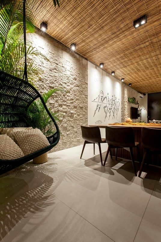 Refúgio do Forte Por Bruna Milcent, Fernanda Milcent & Renan Saturnino (M100 Arquitetura) - Foto Xico Diniz