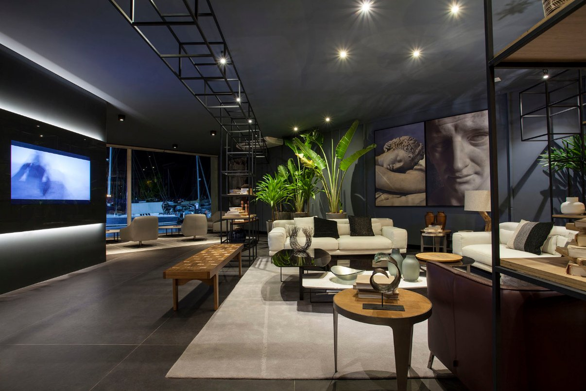 Lounge SDB Portofino Por Marcus & Ivane Barbosa - Fotos Xico Diniz