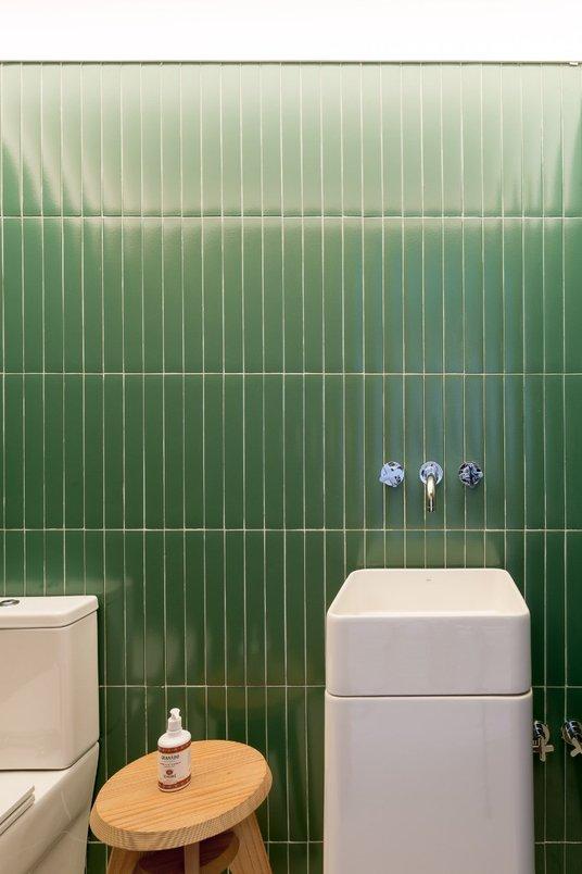 Banheiro Modernista
