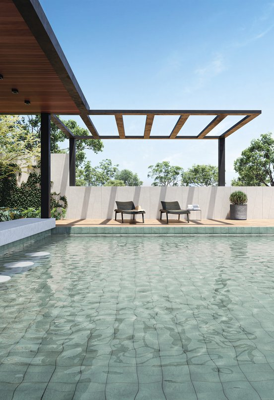 Ibiza na piscina 02, detalhe