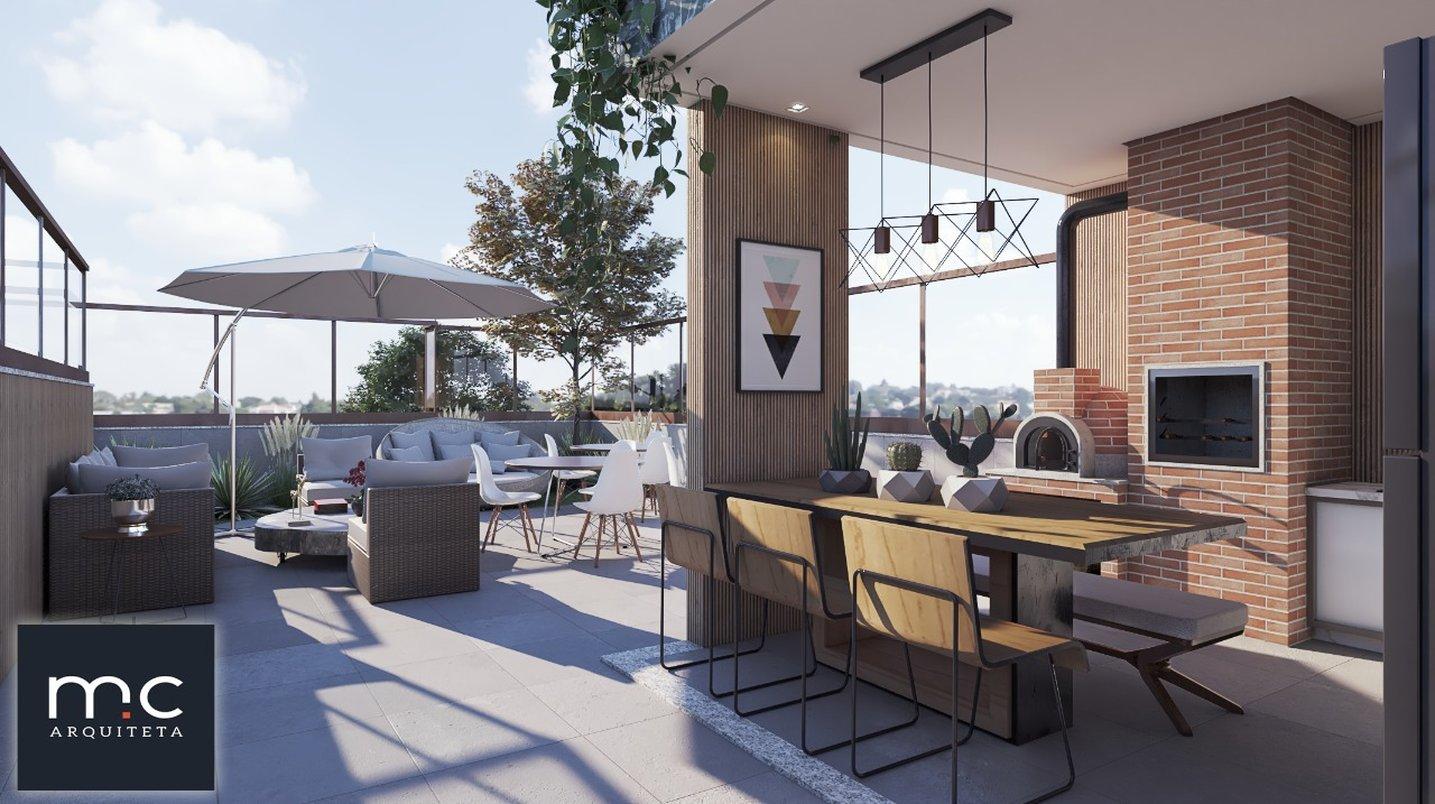 Área gourmet Rooftop