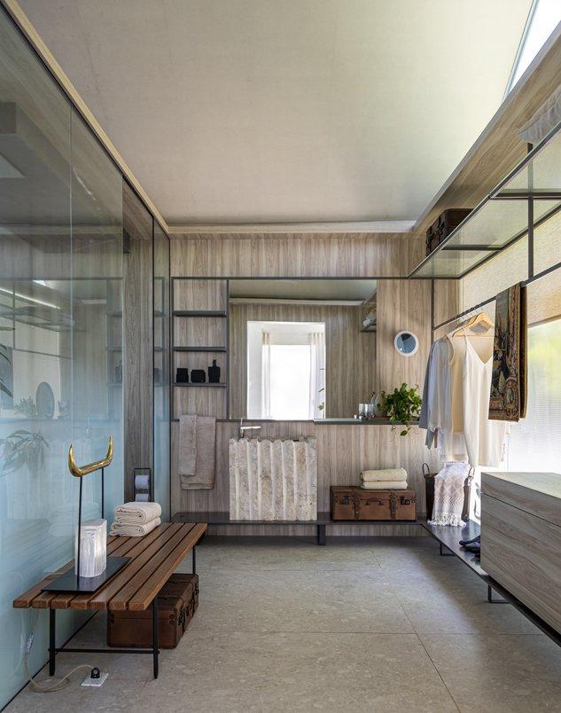 Banheiro com closet