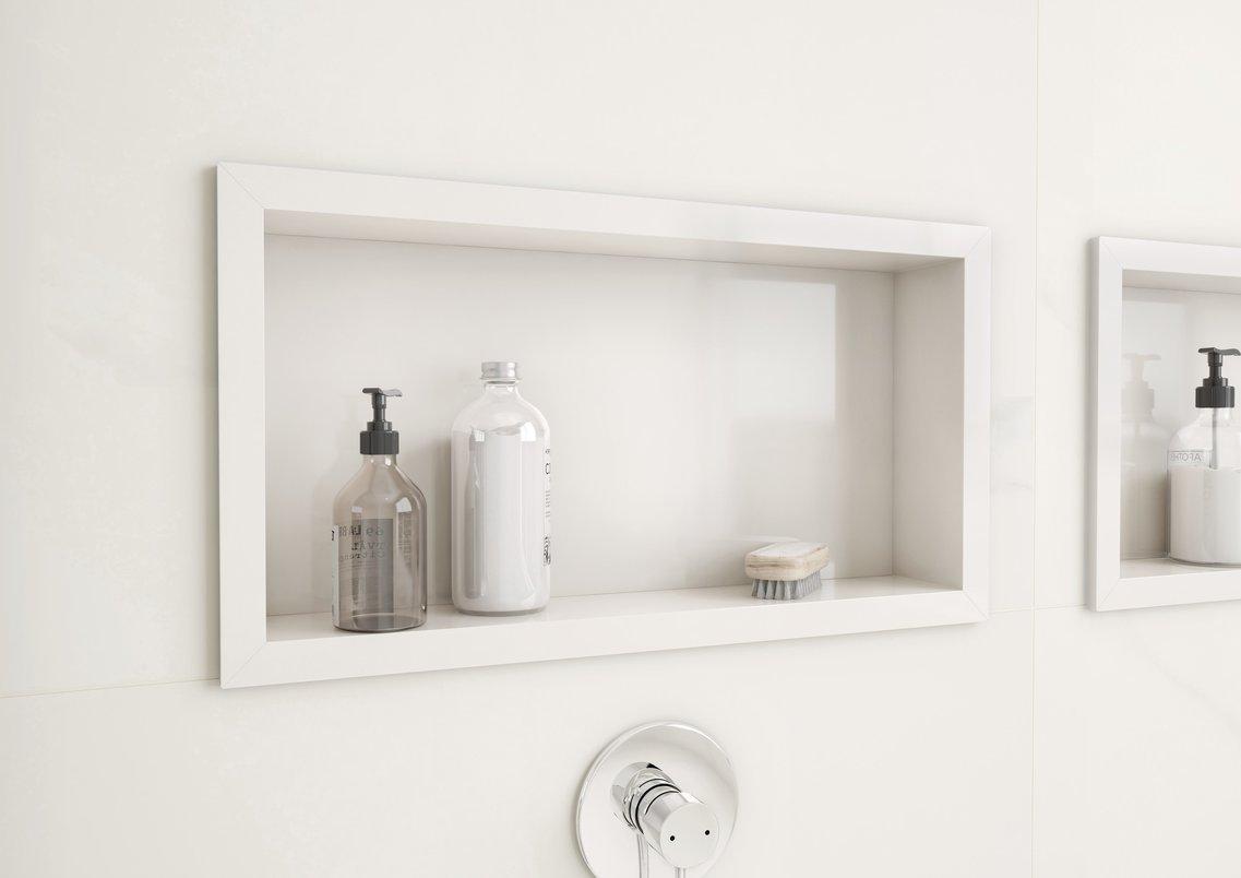 Frame Nicho Full White 36x66