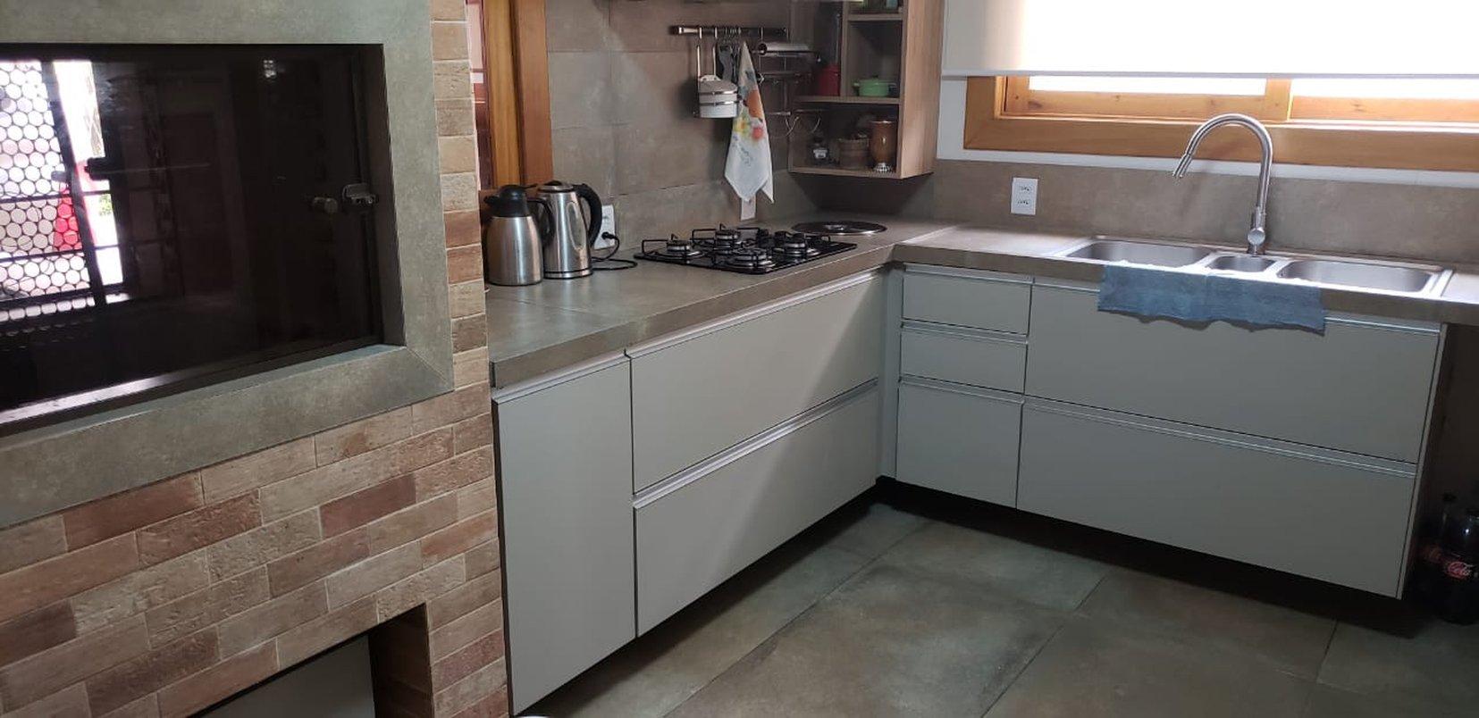 Piso,bancada e parede - Concretissyma Match wine 60x120 ret