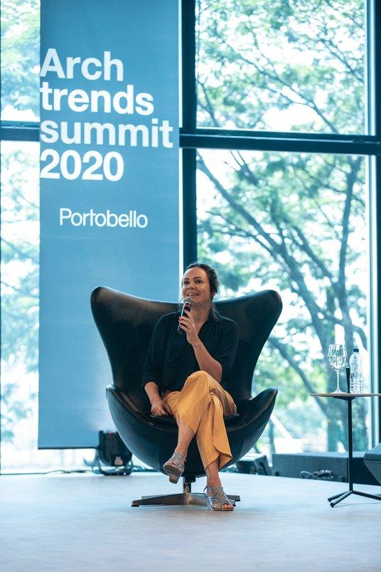 Palestra de Patrícia Pomerantzeff.