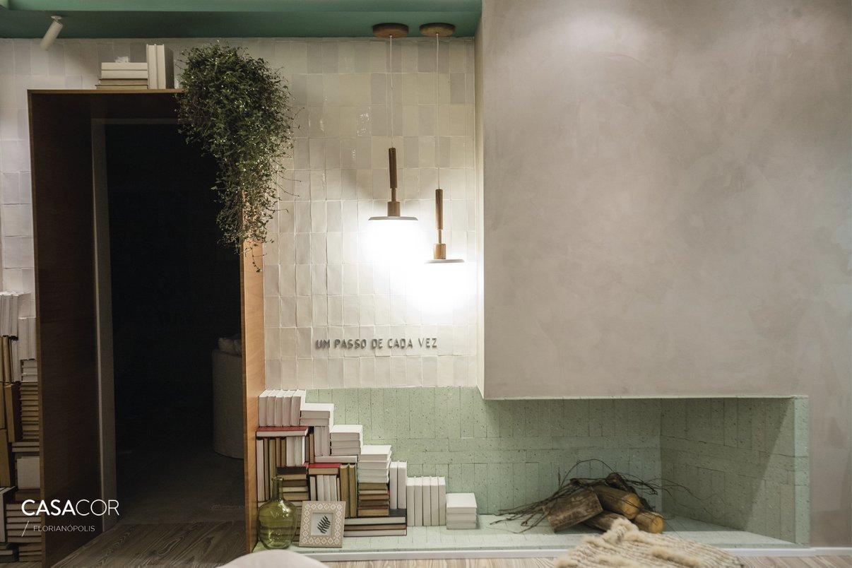 Cozy Office- Por: 3P Studio- foto: Guto Campos