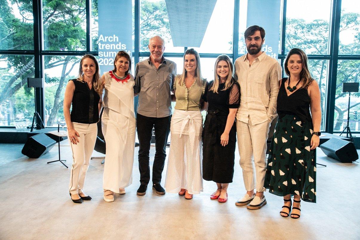 Palestrantes, integrantes da Portobello e profissionais do setor da arquitetura e design.