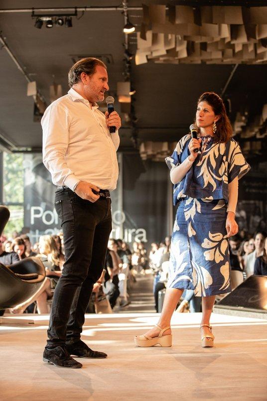 Alexandre Allard, empresário francês por trás da Cidade Matarazzo, bate-papo com apresentadora Taissa Buesco.
