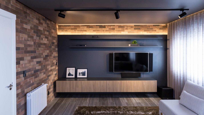 Sala íntima de TV