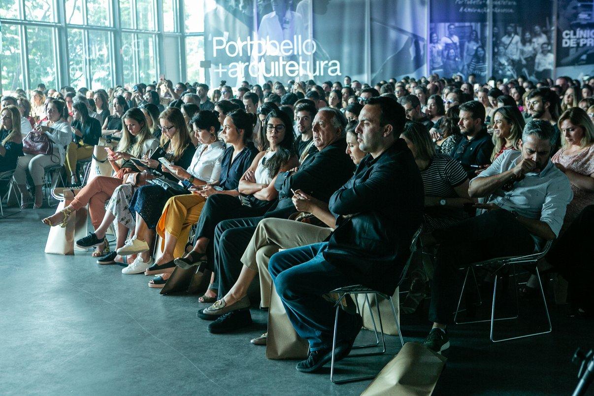 Público do evento.