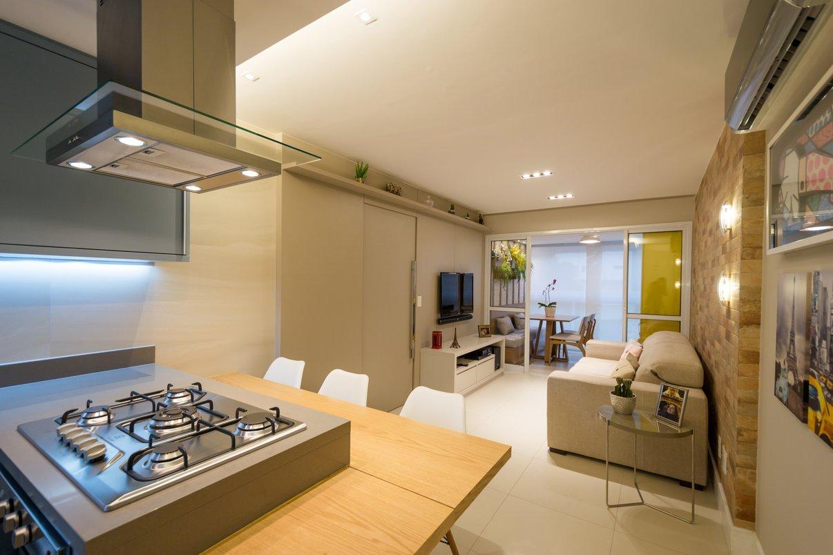 REFORMA // Integração de sala com cozinha por Costalonga Arquitetura //