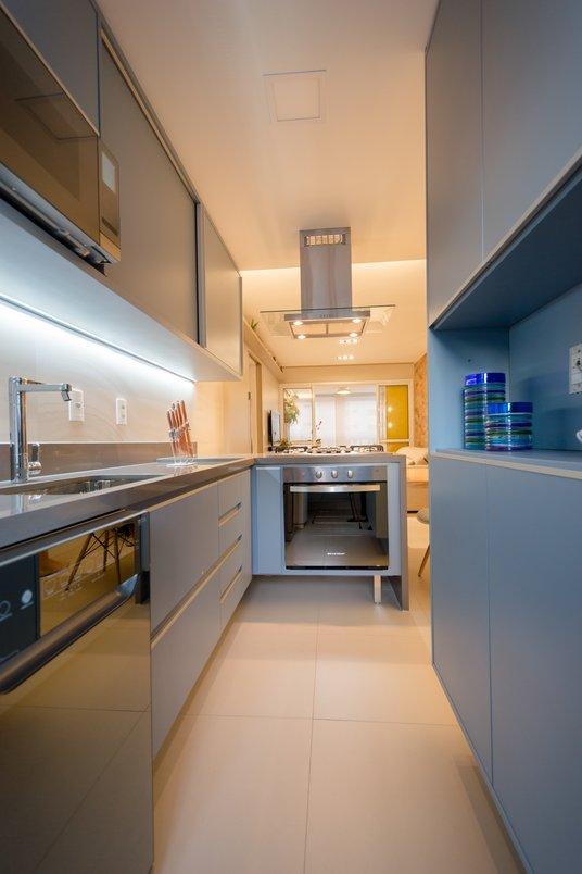 REFORMA // Integração da sala com cozinha por Costalonga Arquitetura