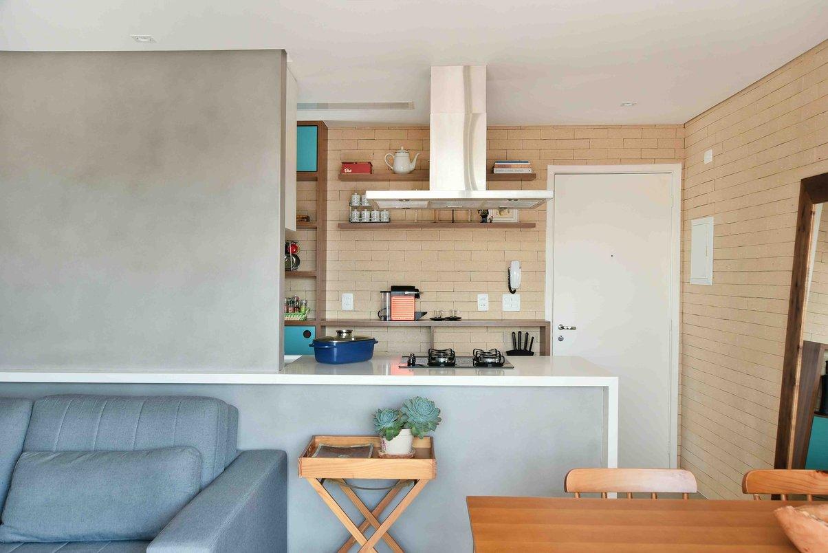 Sala integrada a Cozinha