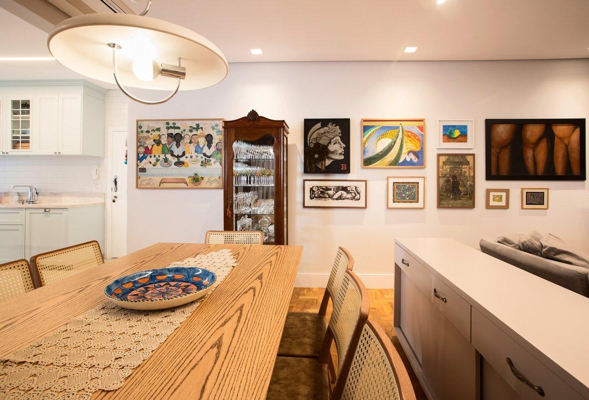 Sala de Jantar Cozinha Aberta