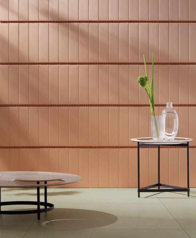 Mesas decorativas contemporâneas.